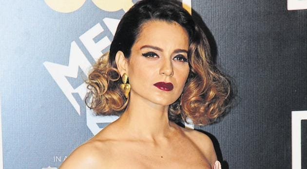 In an apparent attack on Thackeray, Kangana Ranaut called him a dynast and questioned how many people will be silenced.(Pramod Thakur/HT photo)