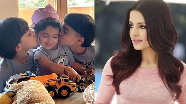 Celina Jaitly has penned a post to mark her son Arthur's third birthday.