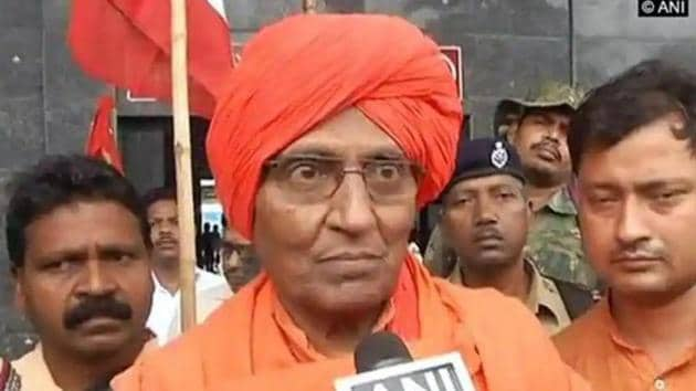 Swami Agnivesh was suffering from liver cirrhosis and was critically ill for the last few days.(ANI photo)