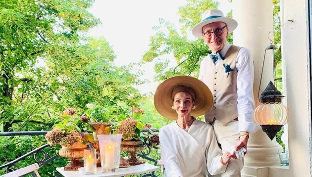 Berlin-based elderly couple steal hearts around the world with their dapper fashion thumbnail