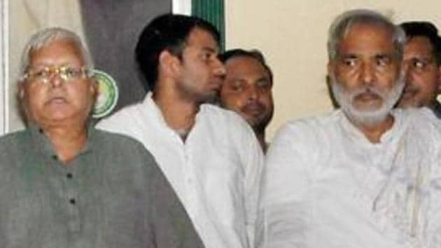 Lalu Prasad's association with Raghuvansh Prasad Singh dates back to the time of Emergency rule in India.(PTI Photo)