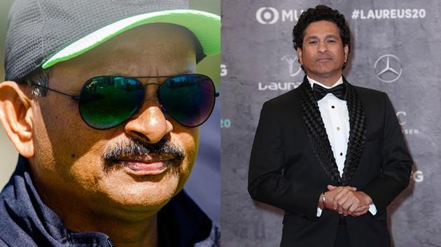 Images of Lalchand Rajput and Sachin Tendulkar(Getty Images)