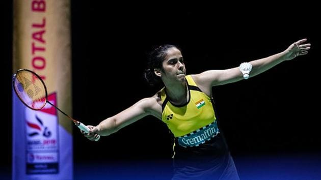 Saina Nehwal in action.(Getty Images)