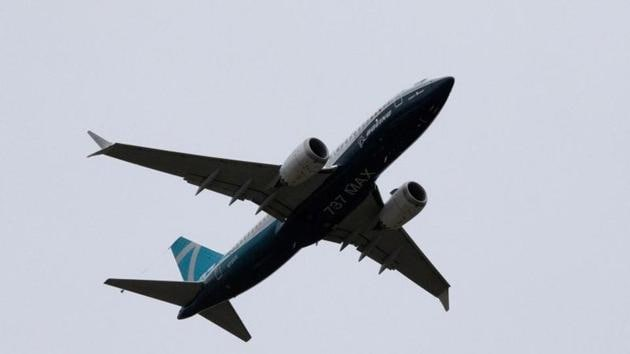 A Boeing 737 MAX airplane takes off on a test flight from Boeing Field. Earlier, DGCA had announced the grounding of all Boeing 737 Max planes on March 12, 2019.(REUTERS)