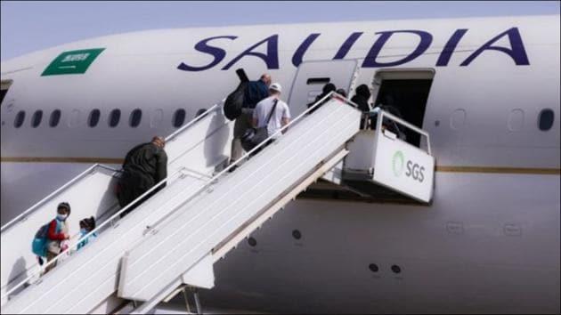 Saudi Arabia to partially lift international flight restrictions from Tuesday(Twitter/Aviaforaviators)