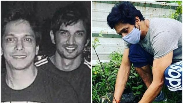 Mahesh Shetty and Sushant Singh Rajput worked together in Pavitra Rishta.
