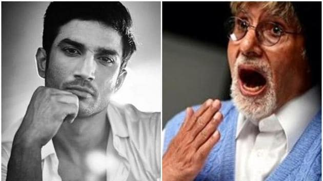 Sushant Singh Rajput's fans planted saplings in his memory, while Amitabh shared a picture from his childhood.