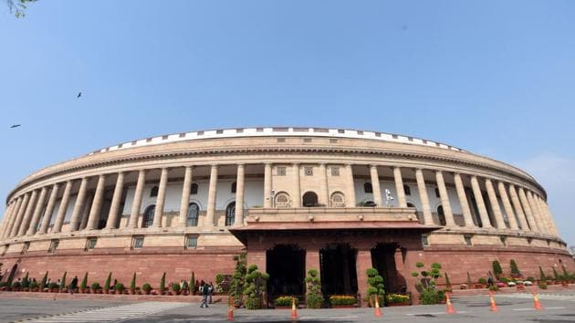 Parliament's Monsoon Session will be conducted amid the Covid-19 pandemic.(Sonu Mehta/HT PHOTO)