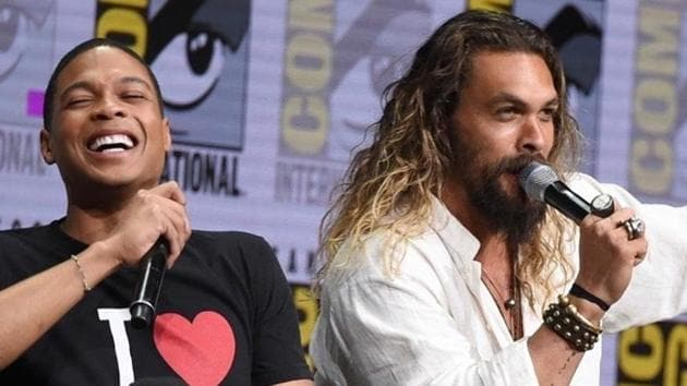 Jason Momoa expressed solidarity with Ray Fisher.