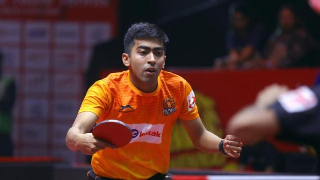 HARMEET DESAI.(Sandeep Shetty / Focus Sports / Ultimate Table Tennis)