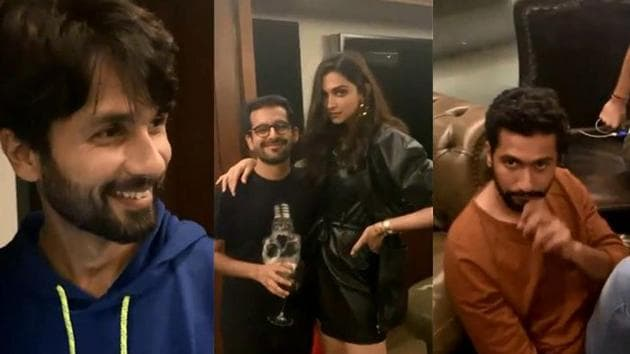 Karan Johar's party was attended by Shahid Kapoor, Deepika Padukone, Vicky Kaushal and others.