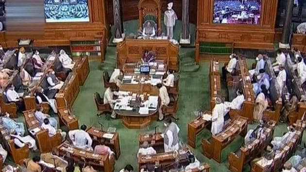 Speaking in the Rajya Sabha on Tuesday, Vardhan had said that the battle against Covid-19 is far from over and the government is taking all necessary measures to prevent the spread of the disease.(PTI)