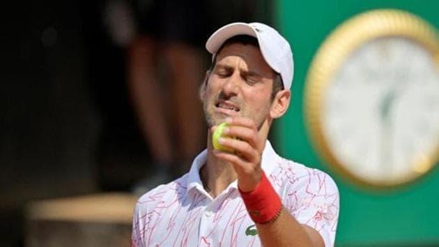 Serbia's Novak Djokovic.(REUTERS)