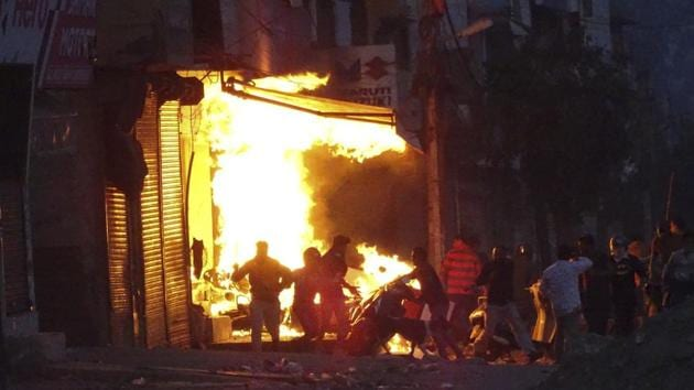 At least 53 persons died while 400 others were injured in clashes between Hindus and Muslims that broke out in different parts of north-east Delhi on February 24.(AP file photo)