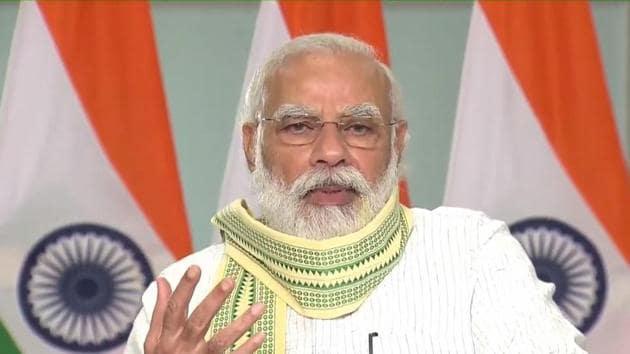 PM Modi turned 70 on Thursday(PTI)