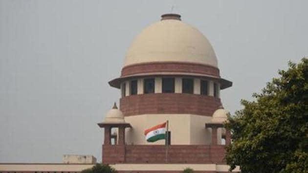 File photo: Supreme Court of India.(Amal KS/HT PHOTO)