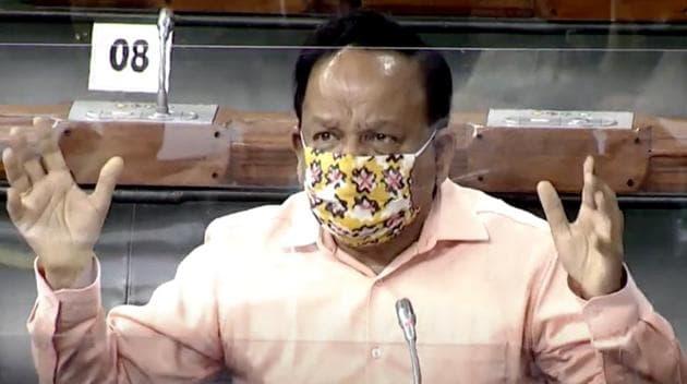 Union Health Minister Dr Harsh Vardhan.(ANI)