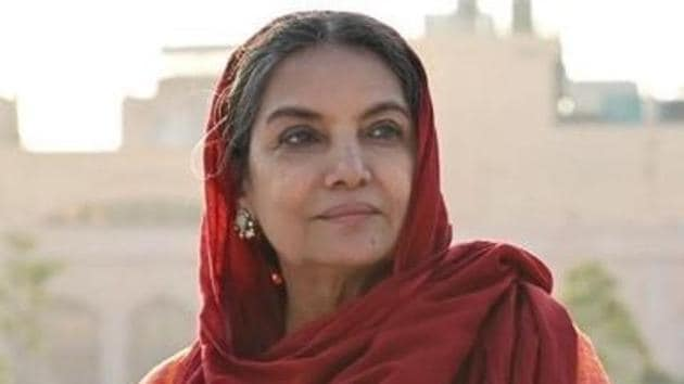 Shabana Azmi was involved in a road accident in January.