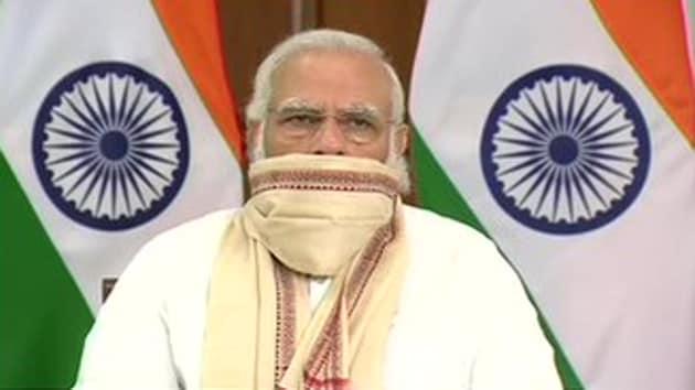 PM Modi was speaking at the virtual inauguration ceremony for Kosi rail mega bridge in Bihar.(ANI)