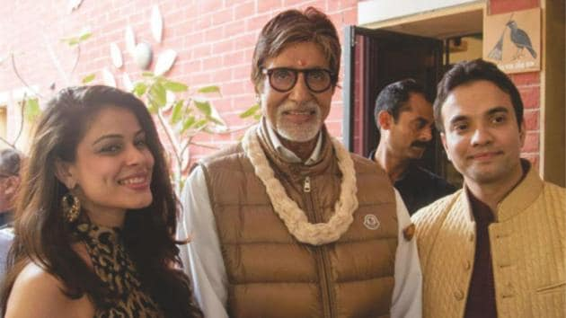 Amitabh and Rashmi tied the knot in 2014.