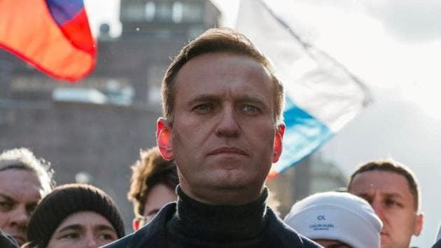 Previously, Navalny's aides had said they suspected he had been poisoned with a cup of tea he drank at Tomsk airport.(Reuters file photo)