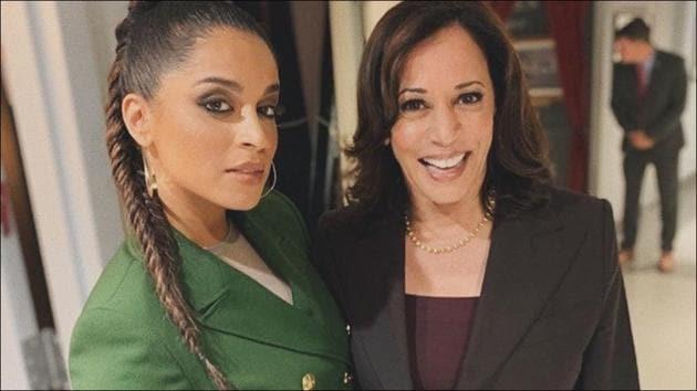 Lilly Singh shares proof of Kamala Harris' Bhangra version of TikTok WAP challenge(Instagram/lilly)