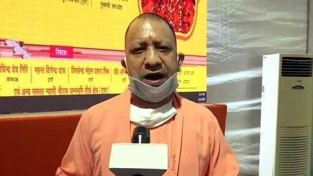 Uttar Pradesh chief minister Yogi Adityanath relaxed rules for IIT scholar Ashish Dixit.(ANI)