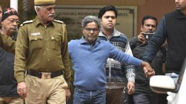 Among those arraigned as accused in the CBI charge sheet, filed on Friday, are Rajiv Saxena, a middleman who was deported to India from Dubai in January 2019 and was made an approver in the case by the Enforcement Directorate in April the same year.(Sanchit Khanna/HT file photo)