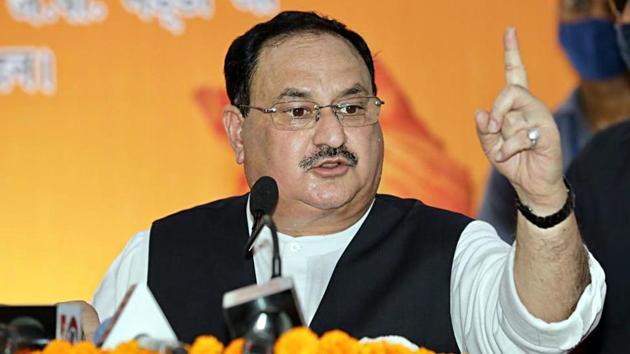 BJP National President JP Nadda.(ANI)