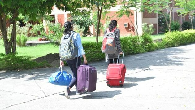 Students will undergo 14 days' mandatory quarantine in designated hostels on the IIT Kanpur campus.(Sourced)