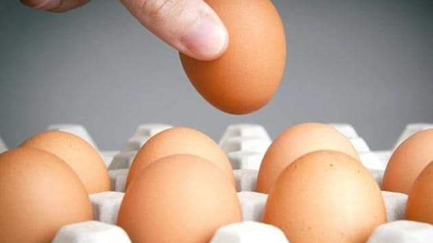 According to the National Egg Coordination Committee (NECC), Pune, the Covid-19 crisis has broken the back of the poultry farmers and the rising demand and confidence of the citizenry for eggs has led to an egg shortage and price rise.(Representational photo)