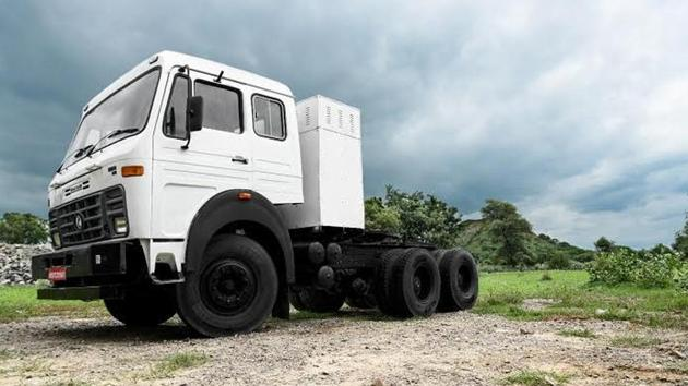 IPLT Rhino 5536, the first truck by the company, can go anywhere, anytime.(IPLTech Electric Pvt Ltd)