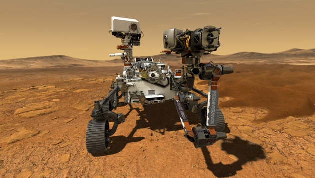 Nearly every mission that has successfully landed on Mars, from the Viking landers to the Curiosity rover, has included an X-ray fluorescence spectrometer of some kind.(Twitter @NASAPersevere)