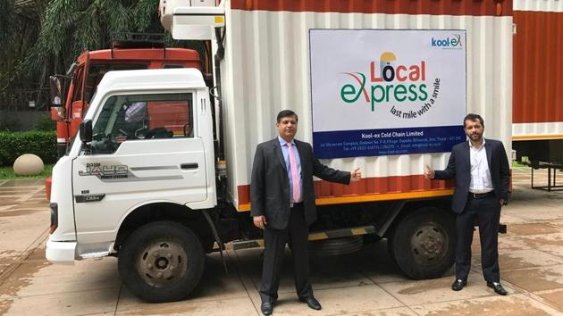 (L-R) Mr. Rahul Agarwal, Director, Kool-ex Warehousing and Mr. Kunal Agarwal, Director, Kool-ex Warehousing.(Kool-ex)