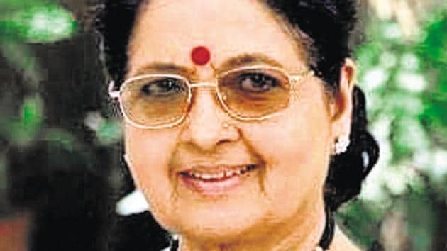 As per a press statement, her last rites will be performed at Satara. She is survived by her son. A PTI report quoted a senior doctor from the hospital as saying, her condition worsened on Monday evening and she was put on ventilator support. She breathed her last today (Tuesday) morning.(HT PHOTO)