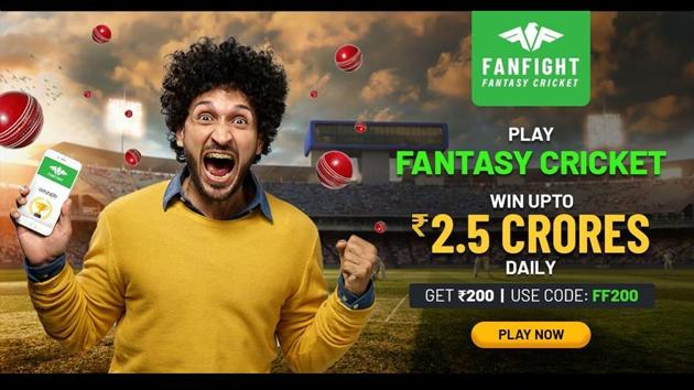 Playing fantasy cricket on FanFight makes you feel wow.(FanFight)