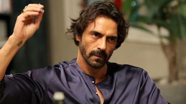 Arjun Rampal on sets of NalPolish.