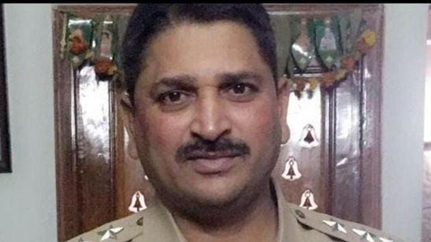 Narsimha Reddy, who joined the police department in 1991, had worked as inspector of police at Uppal, before being promoted to the rank of ACP only recently and posted at Malkajgiri. (HT Photo)