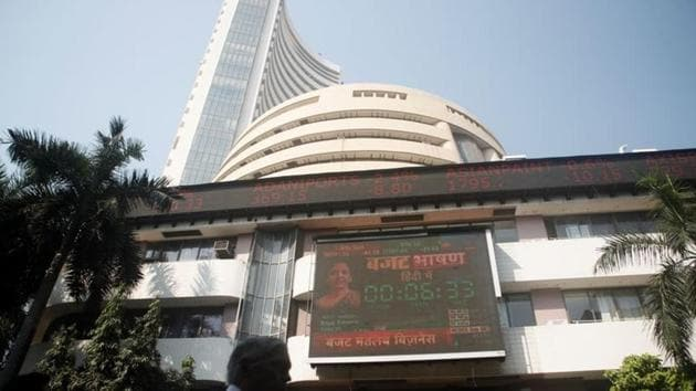 The BSE Sensex closed at 36,553.60.(Reuters)