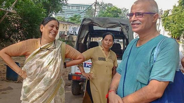 Sudha Bharadwaj was arrested by the Pune police in connection with the Bhima Koregaon violence case.(PTI Photo)