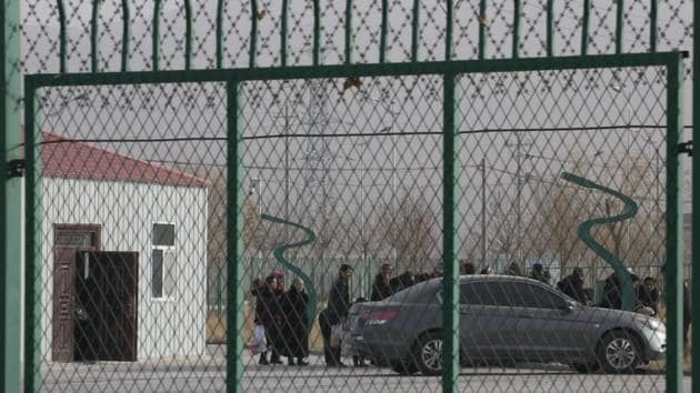 The report builds on evidence that China has made a policy shift from detaining Uighurs and other Muslim minorities in makeshift public buildings to constructing permanent mass detention facilities.(AP file photo. Representative image)