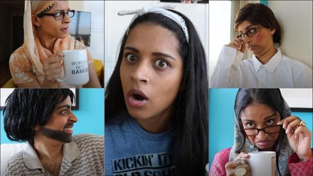 Lilly Singh's relatable video on 'getting compared to cousins' is too hilarious to miss(YouTube/Lilly Singh)