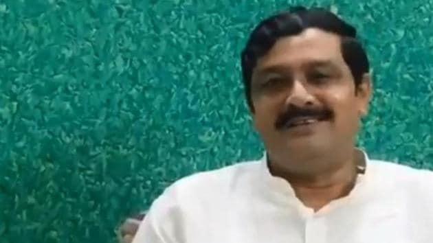 Rahul Sinha, Bengal BJP leader, is upset regarding BJP's new team.(Twitter/@RahulSinhaBJP)