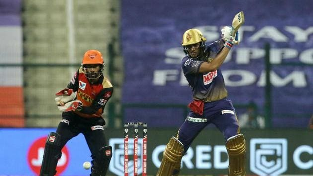 KKR vs SRH Live Score, IPL 2020 Match Today: Shubman Gill scored his 5th IPL fifty.(IPL/Twitter)