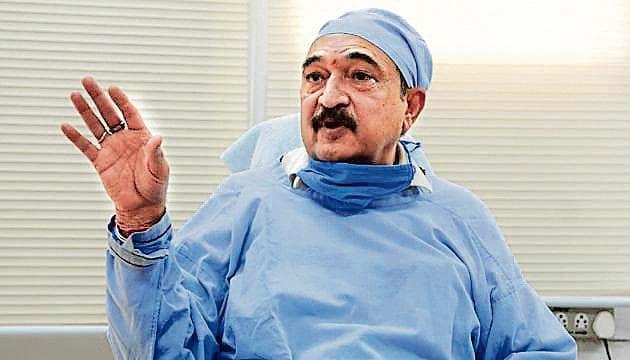 Dr G Dewan, director, health services, Chandigarh.(Hindustan Times)