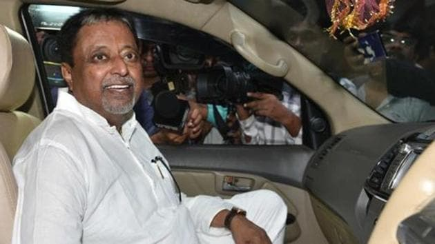 Roy who had joined the party in 2017, served as the convenor of the Bengal unit of the BJP's election management committee for the 2018 panchayat polls and the 2019 Lok Sabha elections. He was the party's national executive before being appointed as the vice president.(HT PHOTO.)