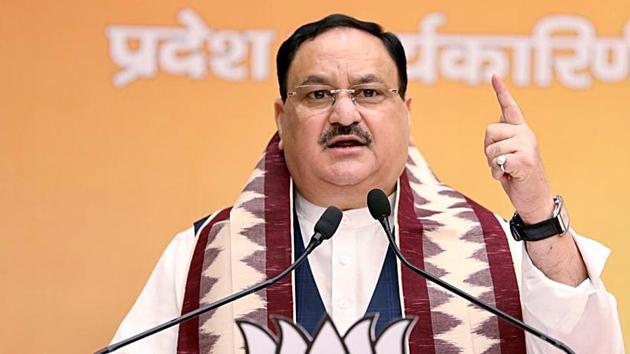 BJP National President JP Nadda announced BJP's new central team.(ANI)