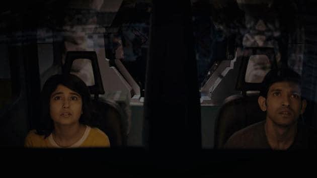 A still from Vikrant Massey and Shweta Tripathi Sharma-starrer sci-fi film, Cargo.