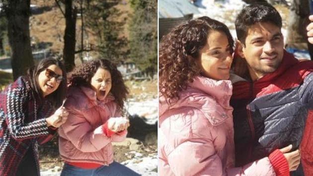 Kangana Ranaut often shares family pictures on social media.