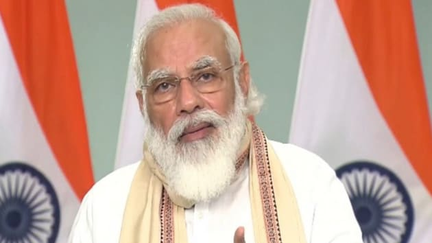 The Prime Minister said that in today's day and age, stories related to science and science fiction are getting popular.(ANI)